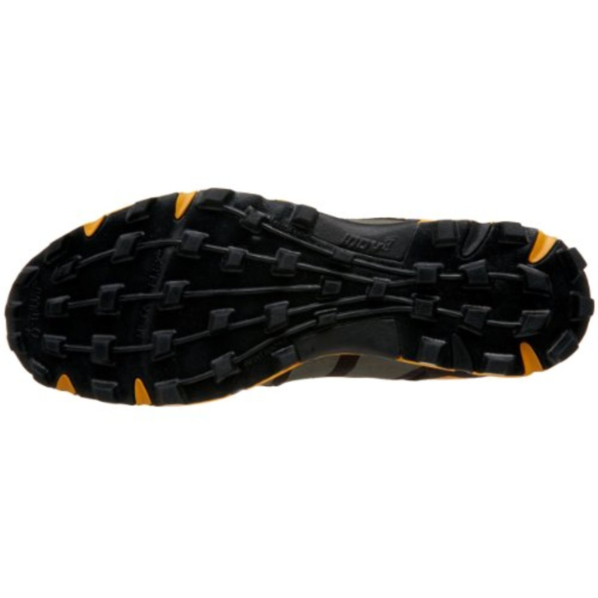 The soft rubber sole of the Talon 212 is great for scaling obstacles