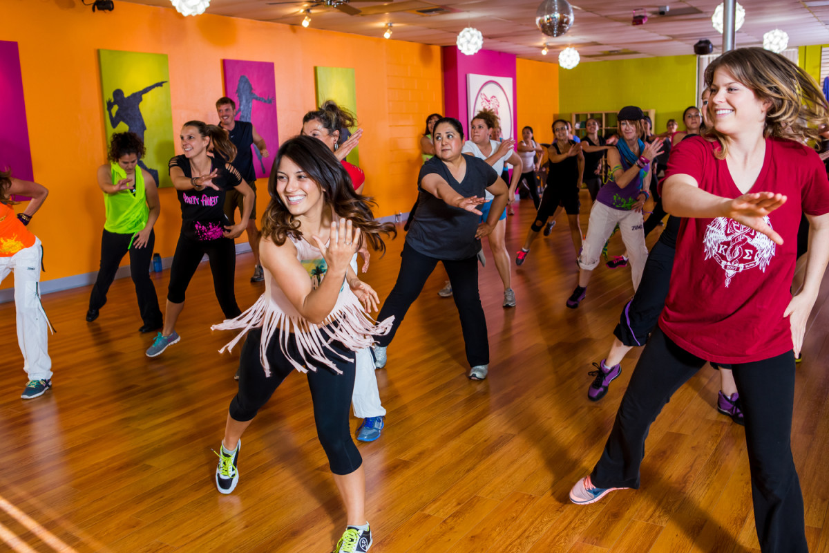 Zumba classes are available in many gyms and dance studios!