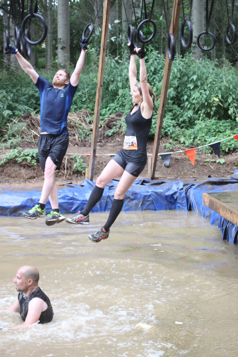 Hangin' Tough is a new obstacle for Tough Mudder in 2014