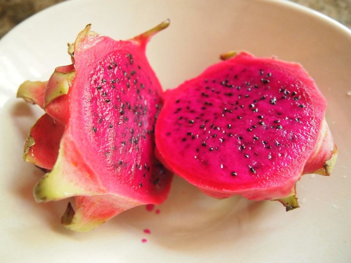 Red flesh dragon fruit