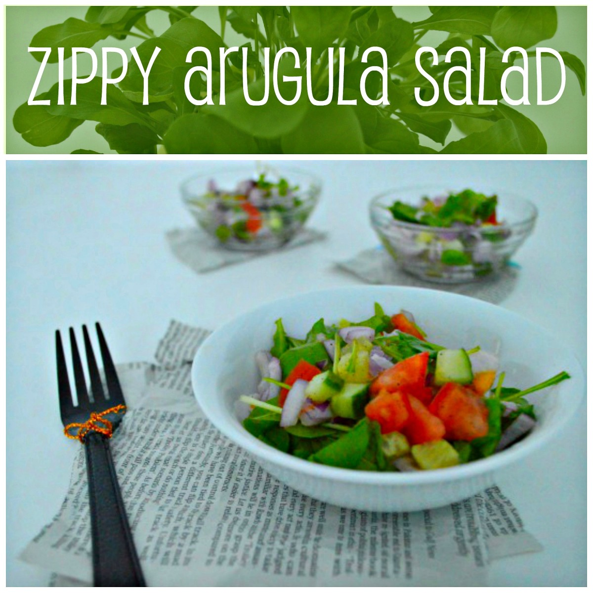 It's easy to make a simple yet striking salad with a snappy-flavoured leafy green like arugula. A squeeze of lemon and a dash of sea salt can transform salad rocket into a vibrant dish.