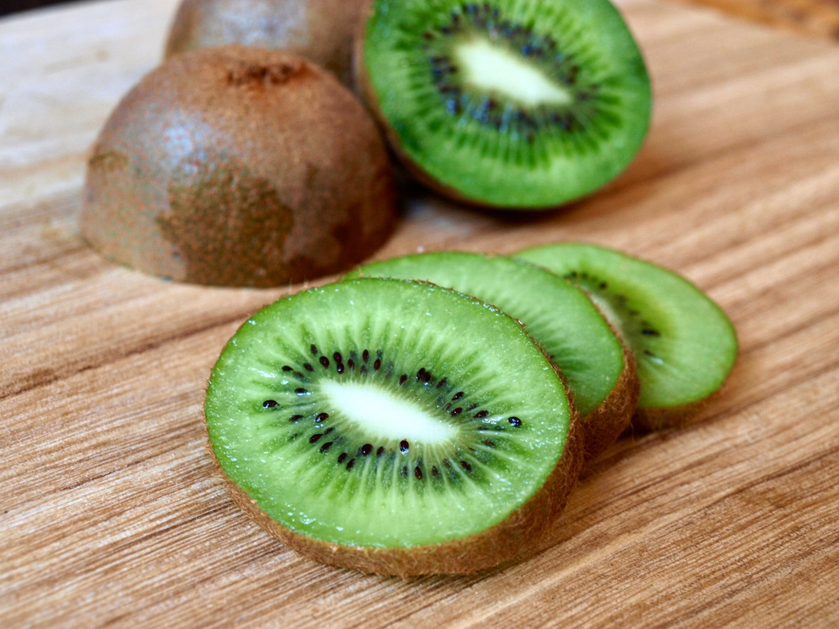 Kiwi fruit are loaded with Vitamin C, which is known to boost skin health and prevent premature aging.
