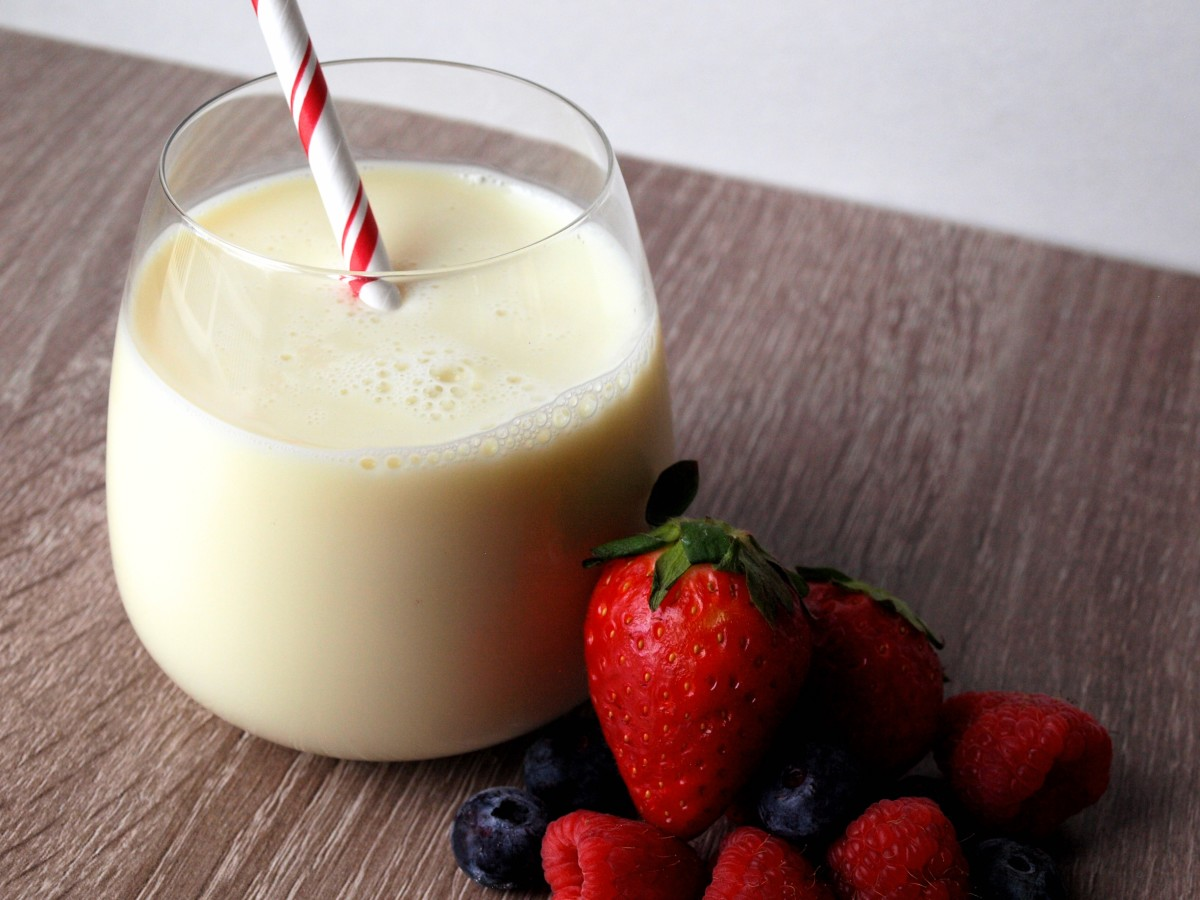If you need to gain weight, increase you caloric intake with whey protein.