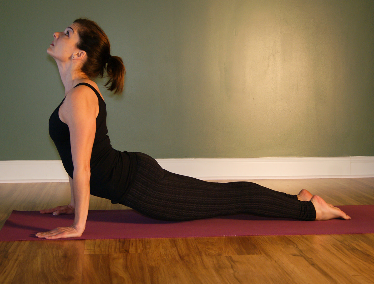 Urdhva Mukha Svanasana - Upward Facing Dog (part of sun salutation)