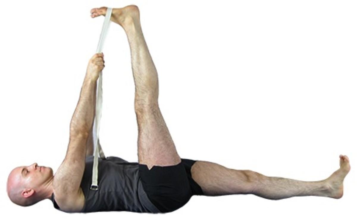 Supta Padangusthasana - Reclining Big Toe Pose