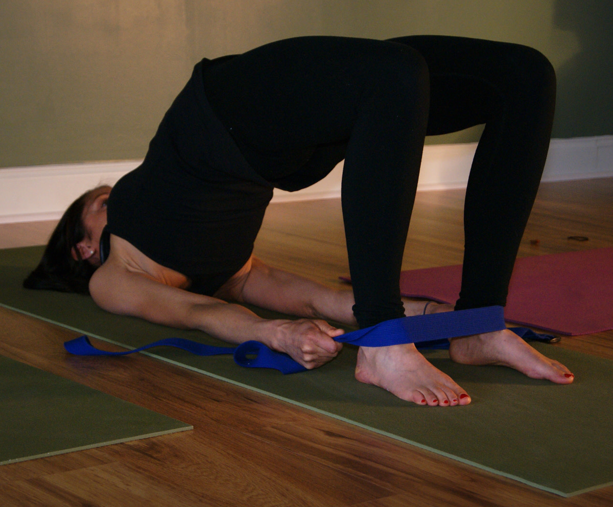 Chatus Padasana - Bridge Pose variation