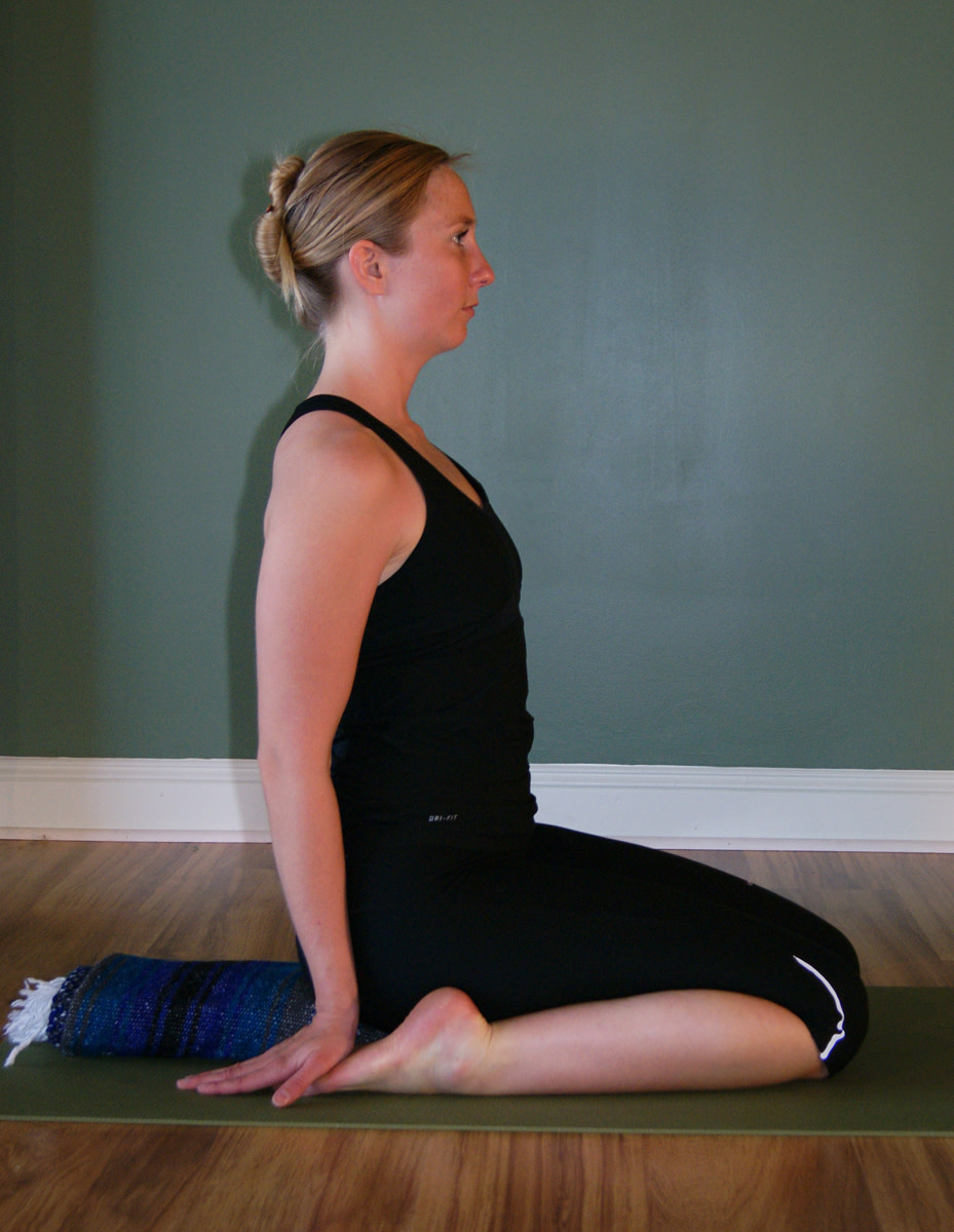 Virasana - Hero Pose
