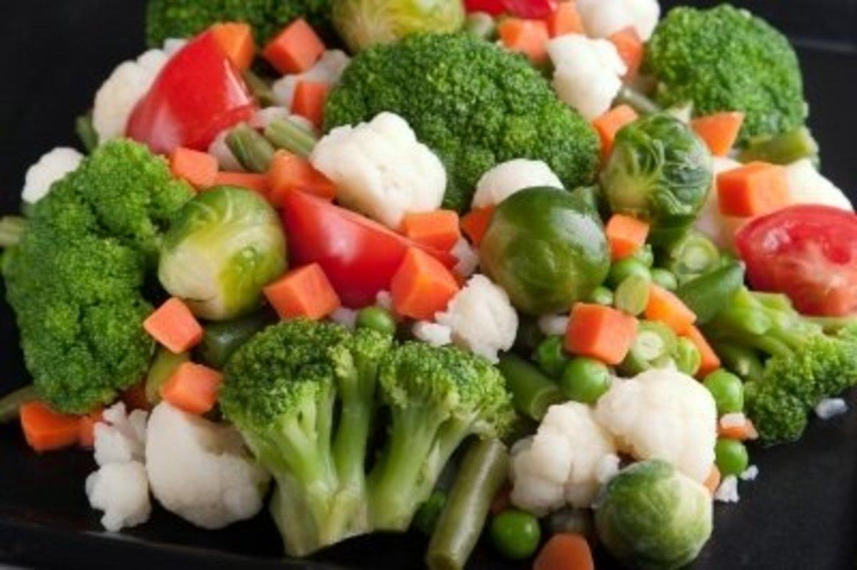 Eat Plenty of Veggies