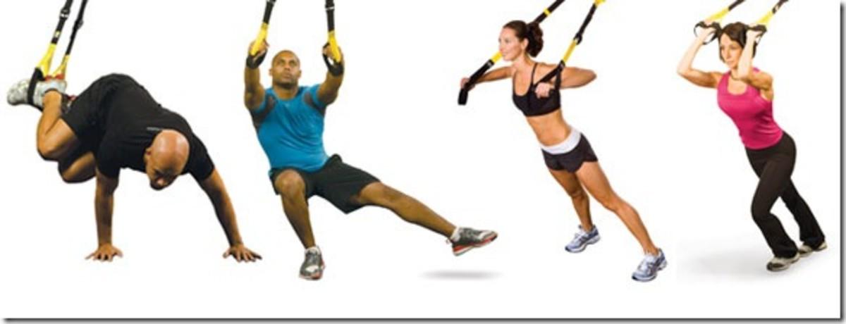 Four different exercises.
