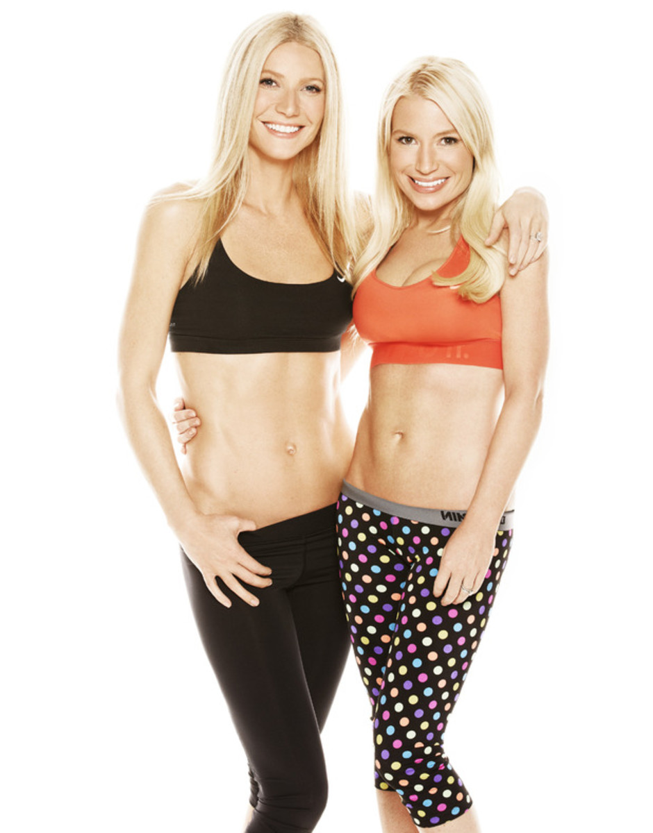 Tracy Anderson & her BFF Gwen