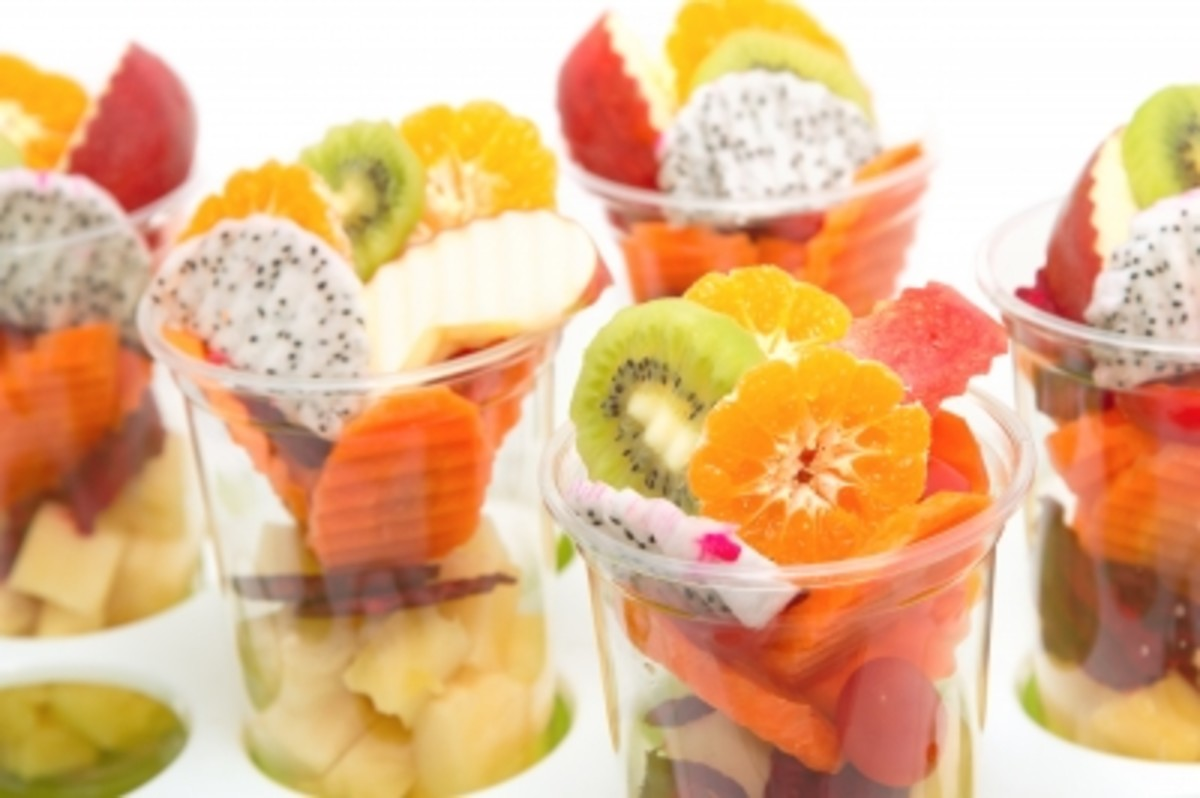Splurg on high-quality fruit for a luxurious diet plan.