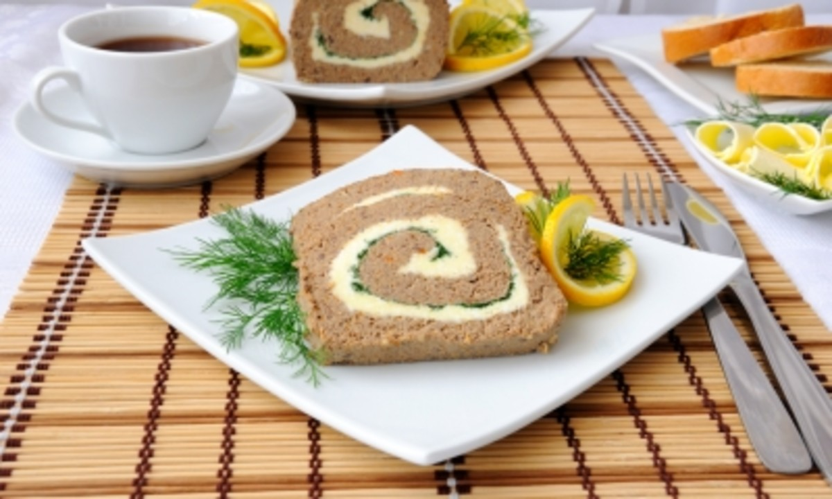 Try liver pate with butter and coffee for breakfast