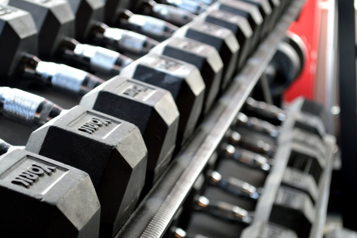 Being able to lift a heavier dumbbell is a real sign of progress. Improve yourself at a pace that's best for you.