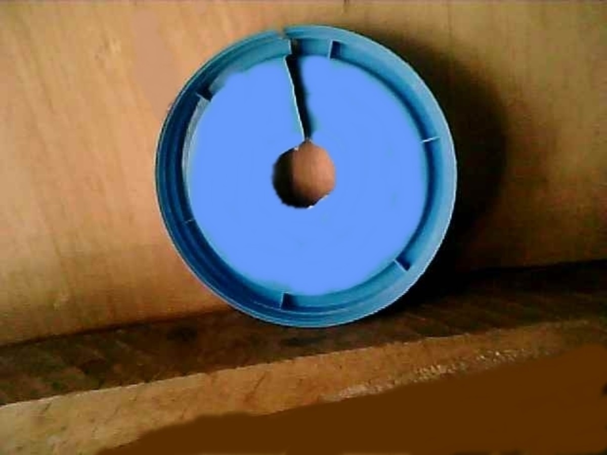 lid with hole
