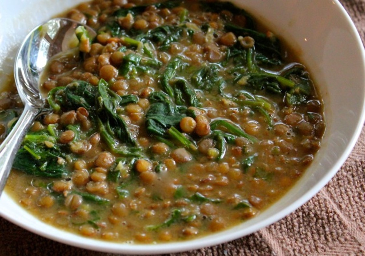 This soup will give you the iron you need in order to be in the Iron Man Competitions.