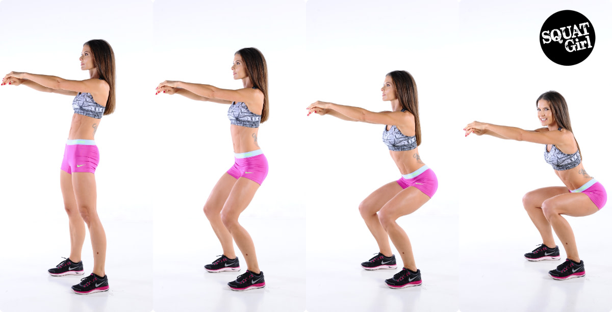 Squats should be done in moderation, since they involve extensive use of your pelvic area.