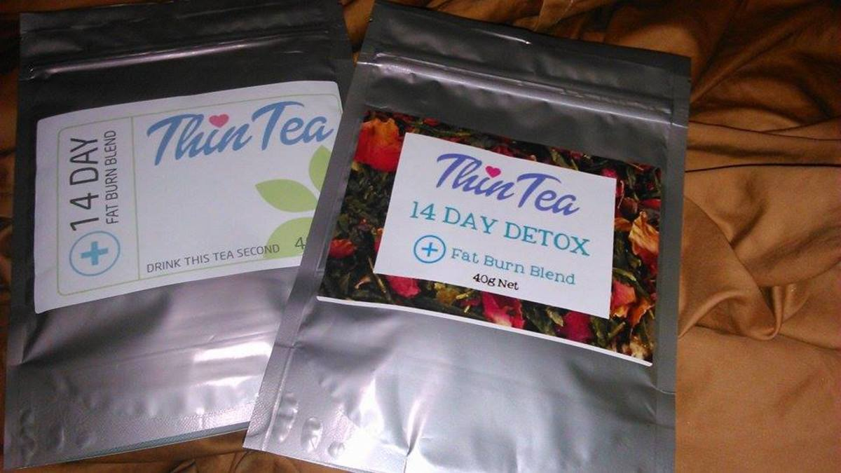Here is the Thin Tea detox tea which I tried for 14 days.