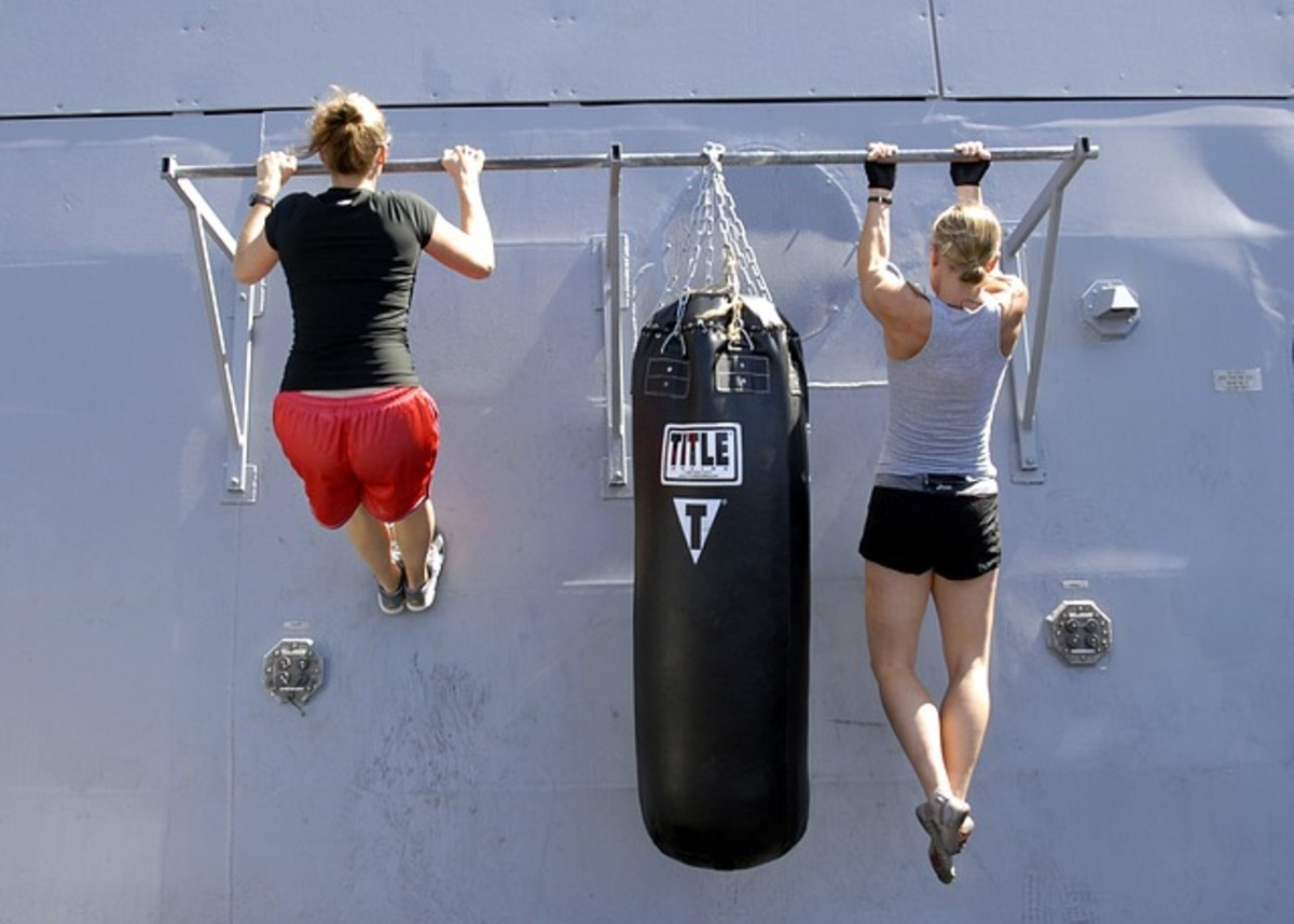 Pull-ups - Best Upper Body Workout for Women