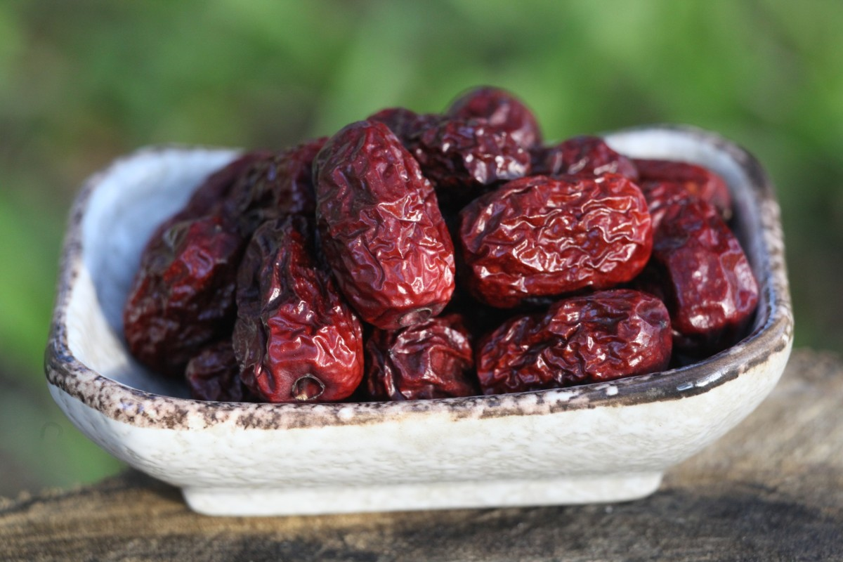 Dried Jujube fruits resembling dried dates