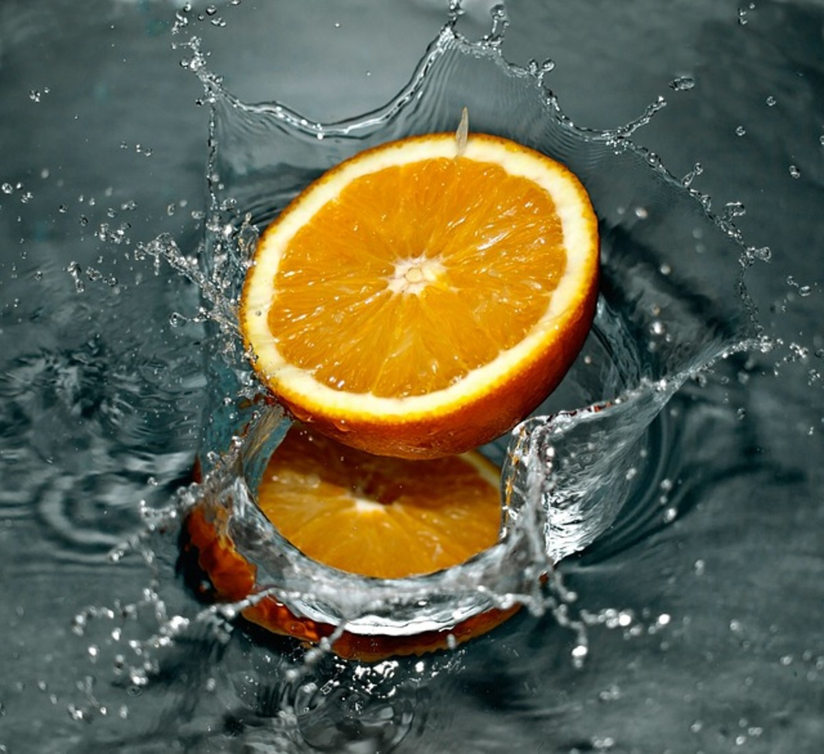 Staying hydrated is one of the most important choices you can make to curb cravings and control your weight. Don't like water? Put a little flavor in it with a slice of fruit.