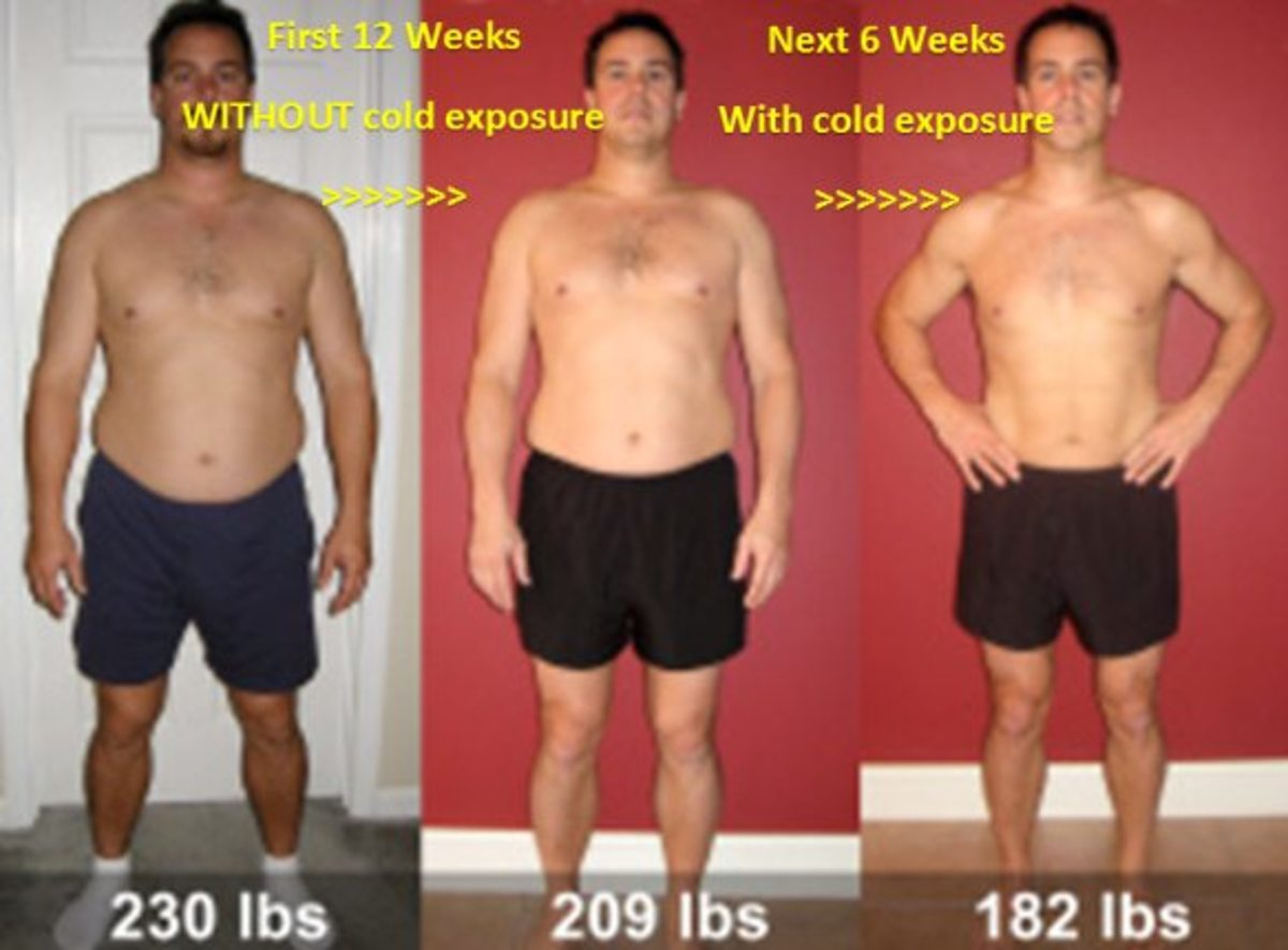 Roy Cronise claims to have lost weight the old-fashioned way--through cold exposure!
