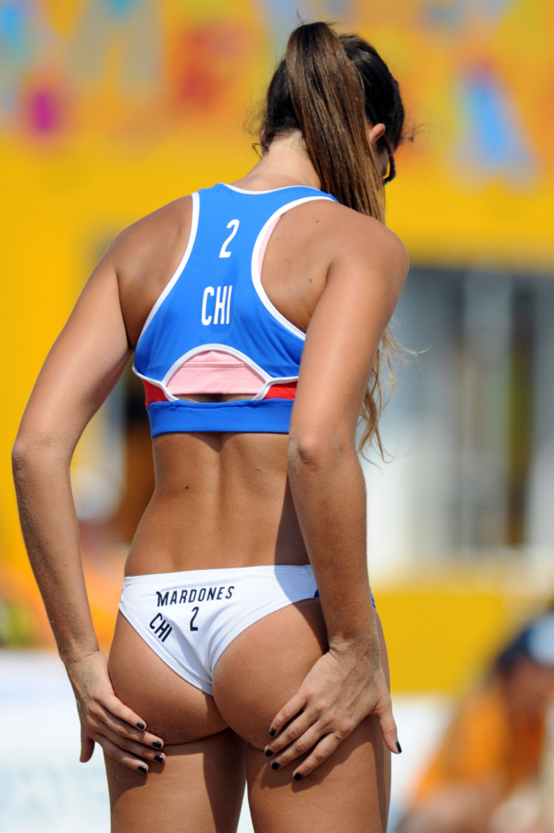 Pilar Mardones was a member of Chile's Beach Volleyball squad which placed 10th at the 2015 Pan American Games.