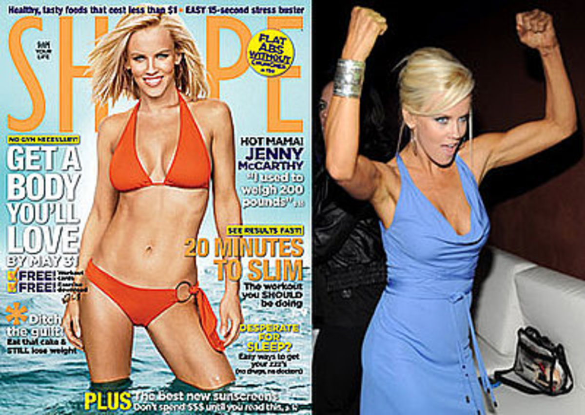 Jenny McCarthy,  revealed that she was 211 after giving birth to her son but lost 60 pounds by his first birthday because of the Weight Watchers program.