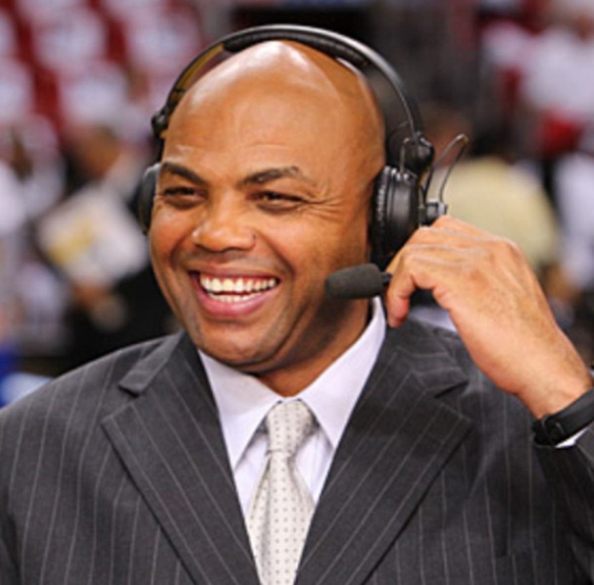 Sir Charles enjoyed being A Weight Watcher.