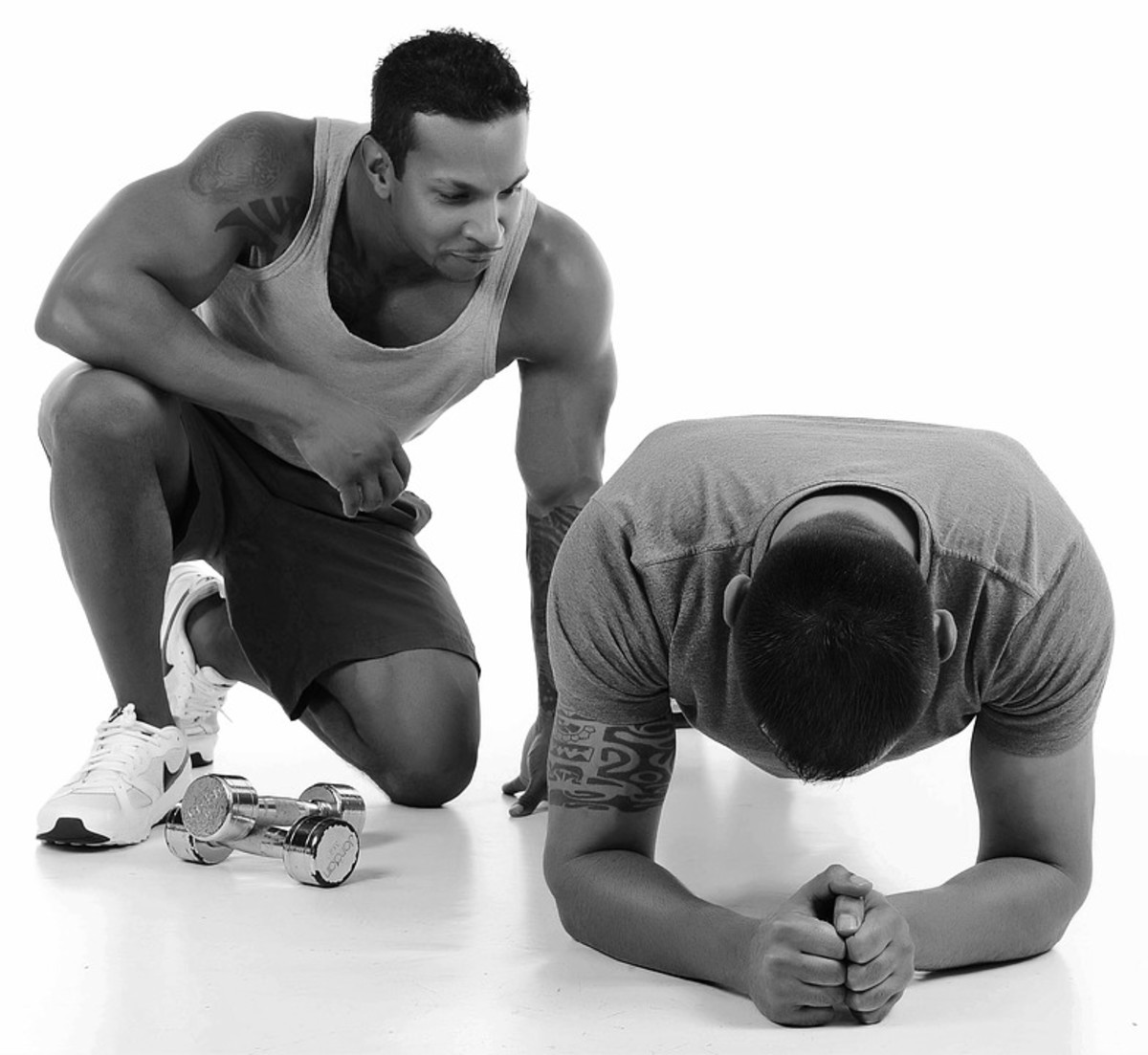 Having a workout partner who is committed and consistent could be argued as one of the most important traits.