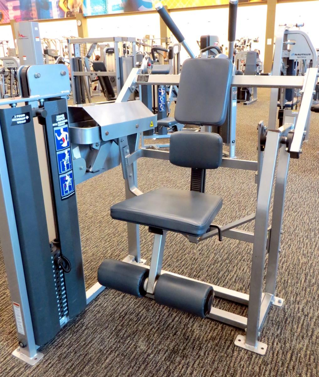Hammer Strength Machine.