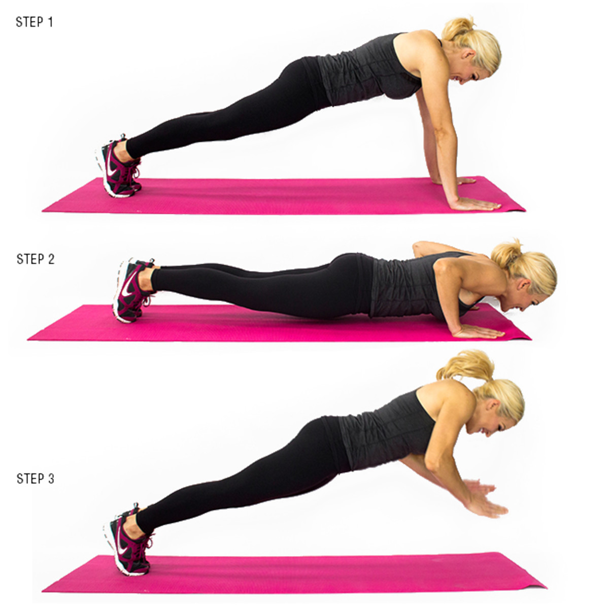 Push-up with a hand clap.