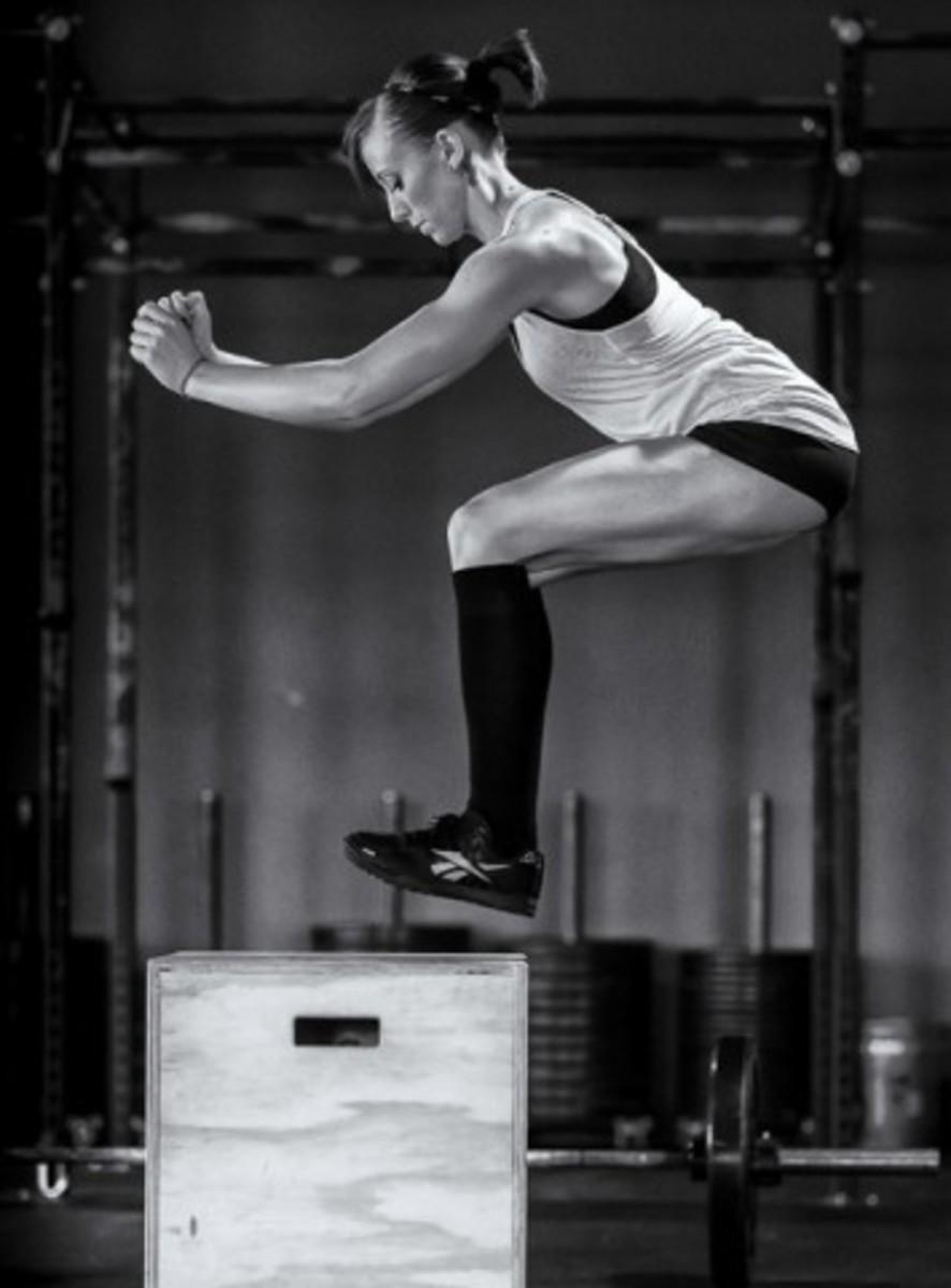 Box jump.