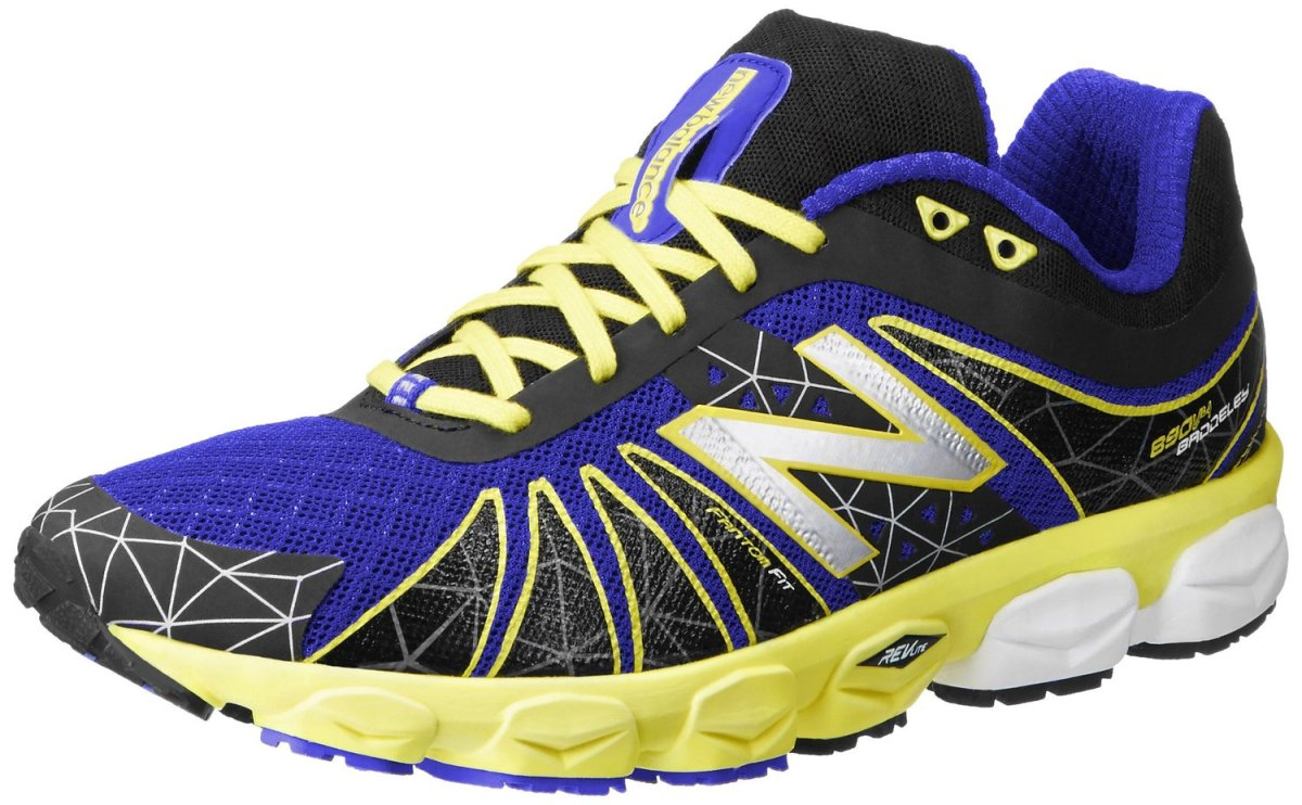 New Balance Men's M890 Neutral Light Running Shoe,Black/Yellow