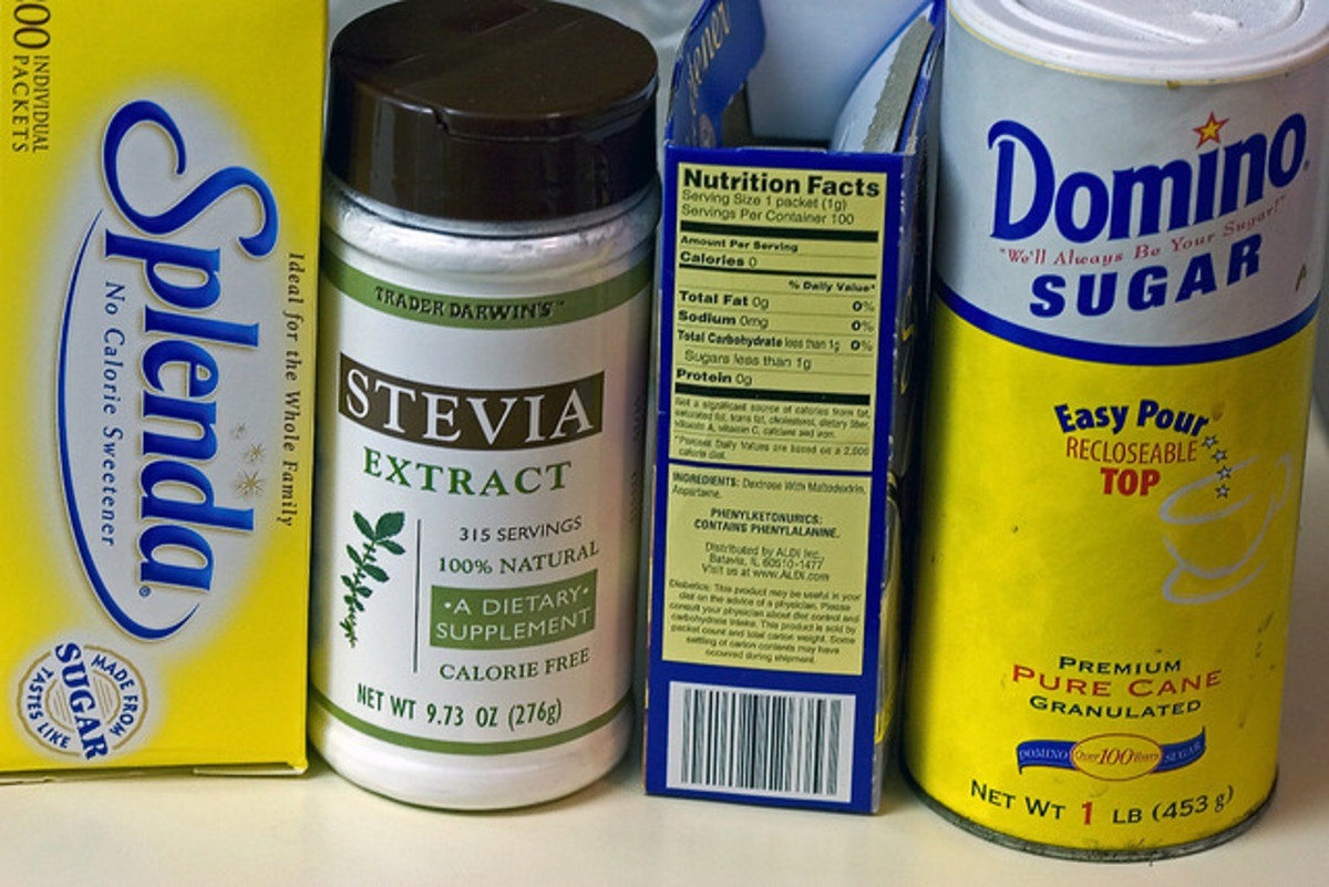 Splenda or stevia. What's the verdict?