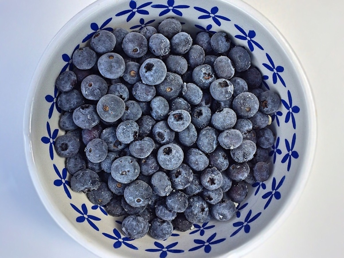 Frozen blueberries are perfect for thawing a bit and juicing, blending for a quick frozen dessert and eating as a quick snack.