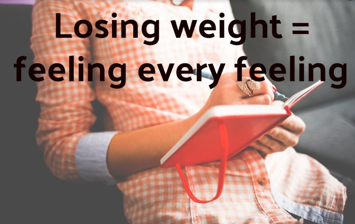 If you don't think your emotional life is key to losing and maintaining a proper weight, you're way off course.