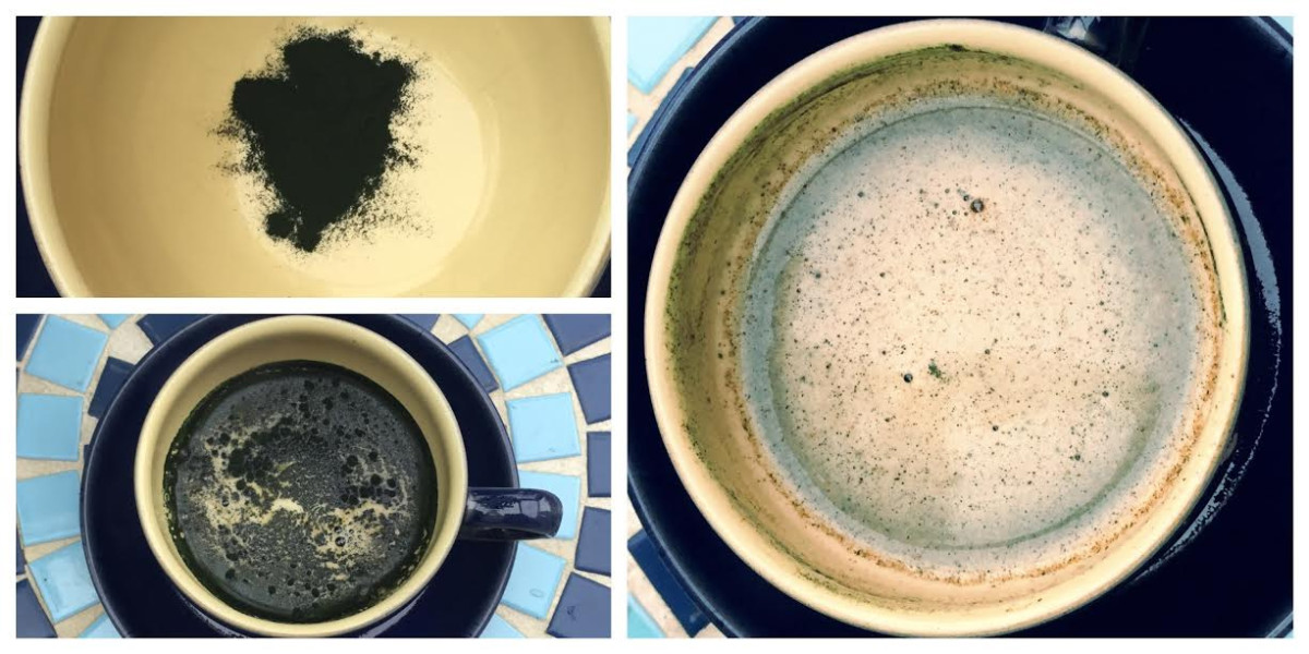 Spirulina in Coffee