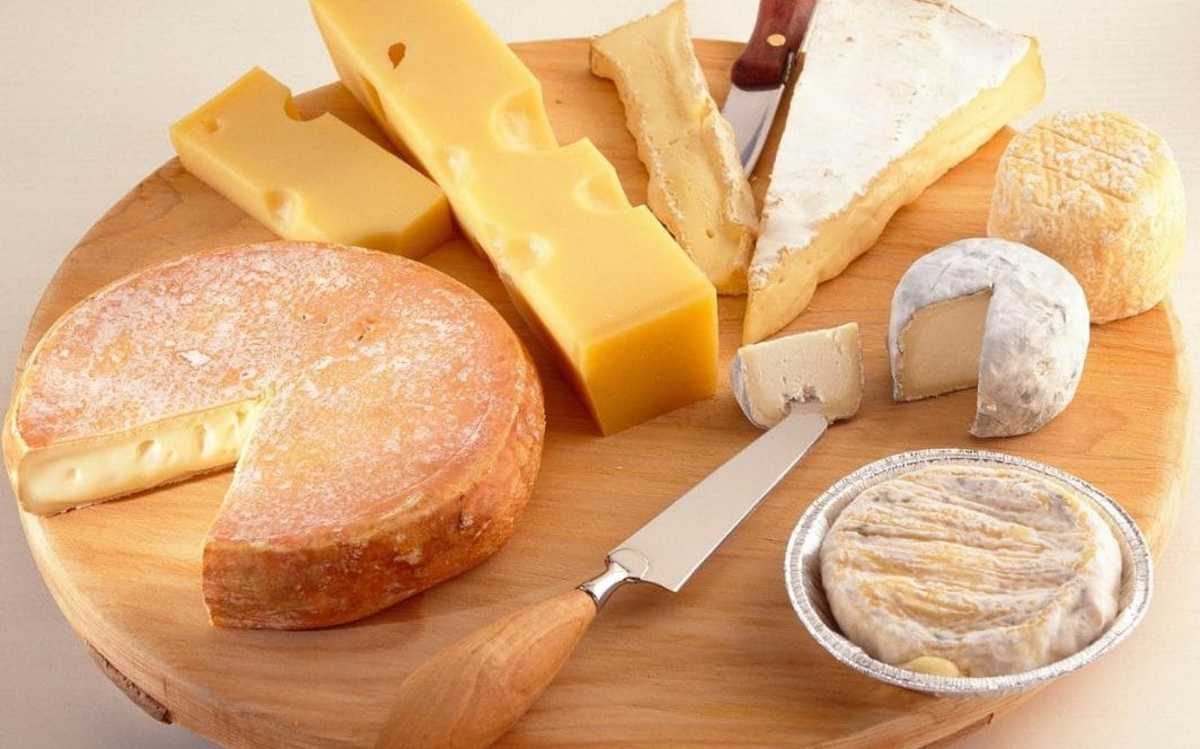 Cheese is an excellent source of protein and healthy fat.