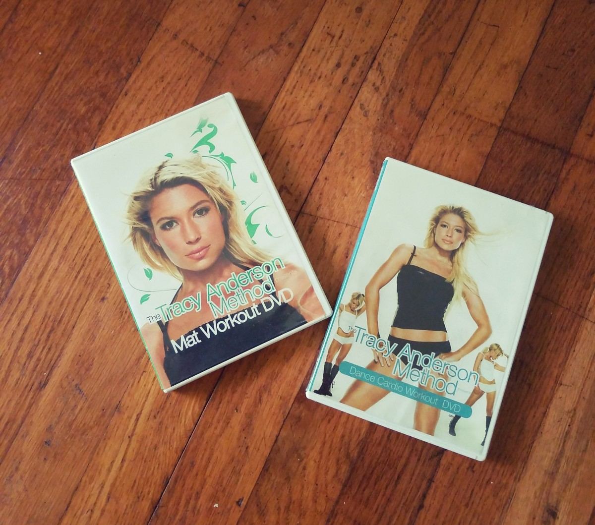 Tracy Anderson Mat Workout and Dance Cardio DVDs