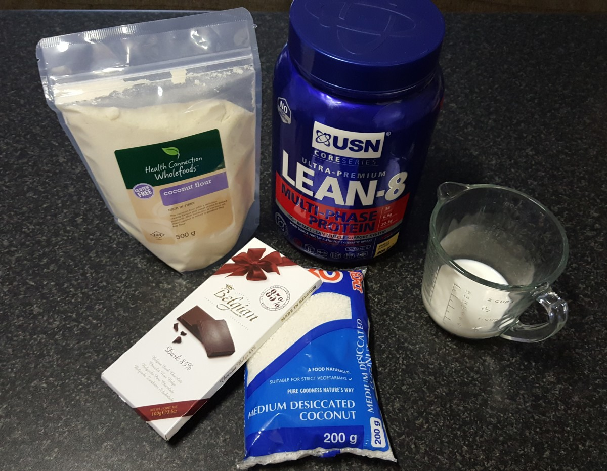 5 Ingredients Only - Protein Bar Recipe