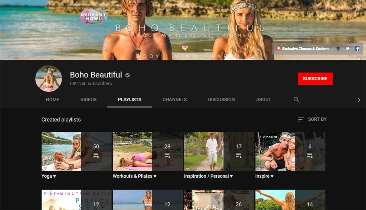 Yoga for Beginners | The Best Online Yoga Classes (6  Great Yoga and Fitness YouTube Channels) | Boho Beautiful