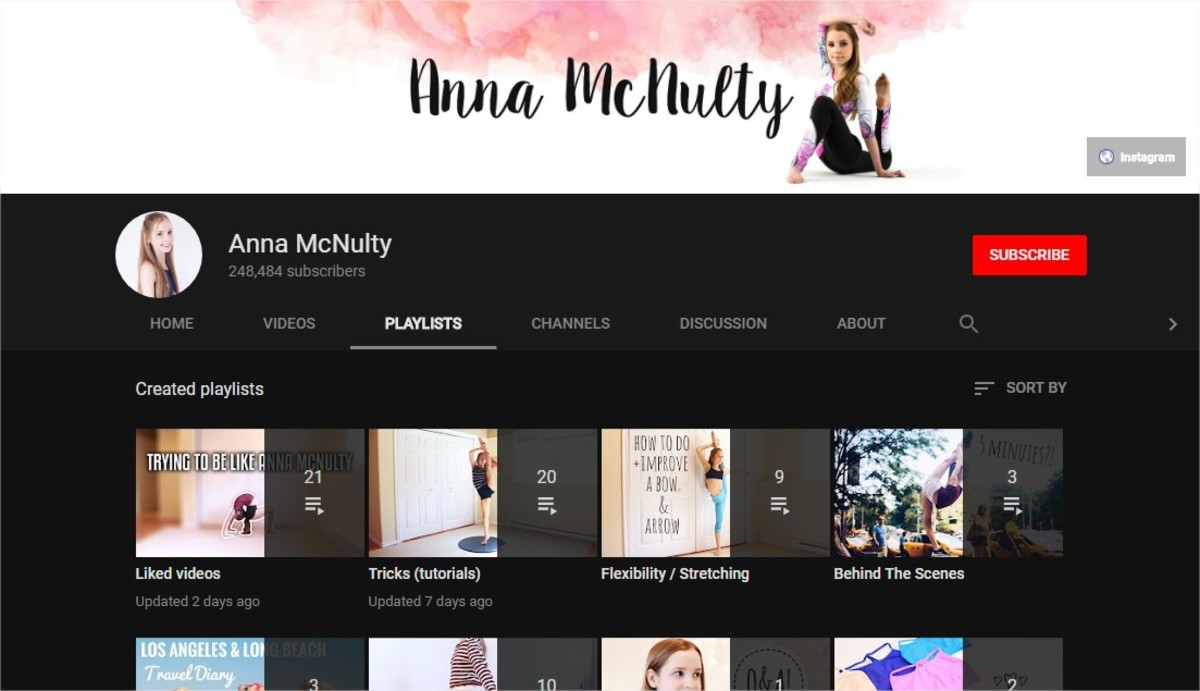 Flexibility Stretches | Flexibility Tips | The Best Online Yoga Classes (6  Great Yoga and Fitness YouTube Channels) | Anna McNulty