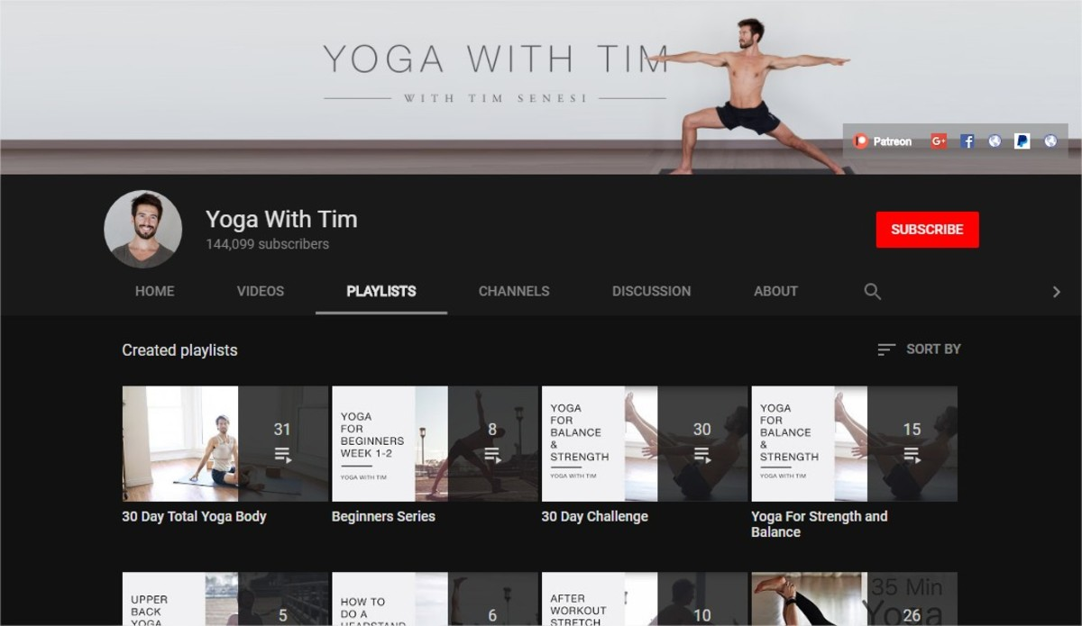 Yoga for Flexibility | Yoga for Weight Loss | Yoga Challenges | The Best Online Yoga Classes (6  Great Yoga and Fitness YouTube Channels) | Yoga With Tim