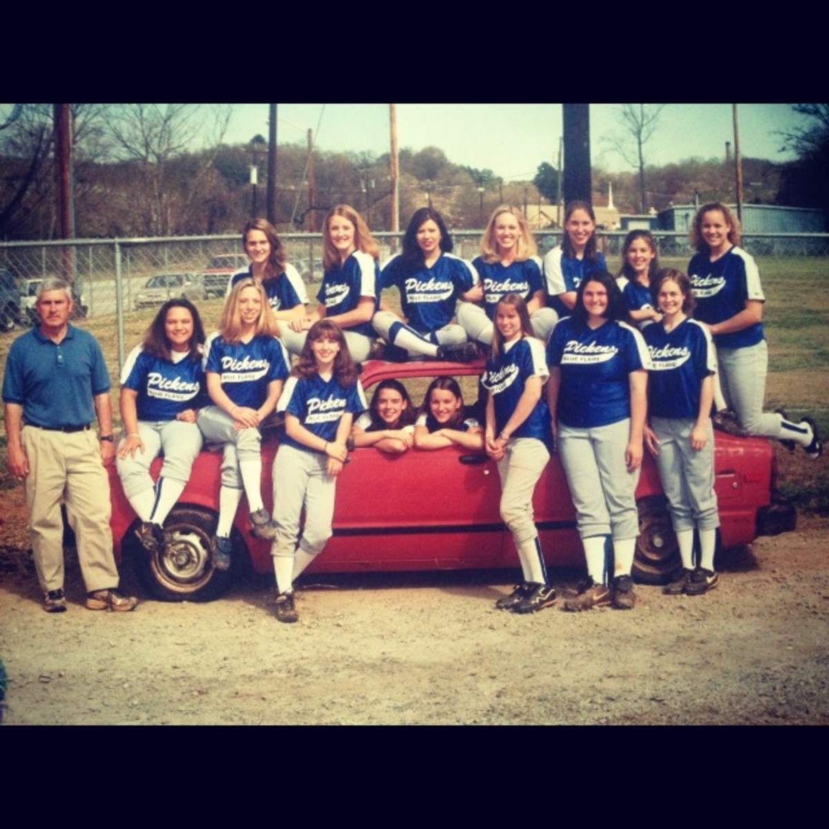 High School Softball team