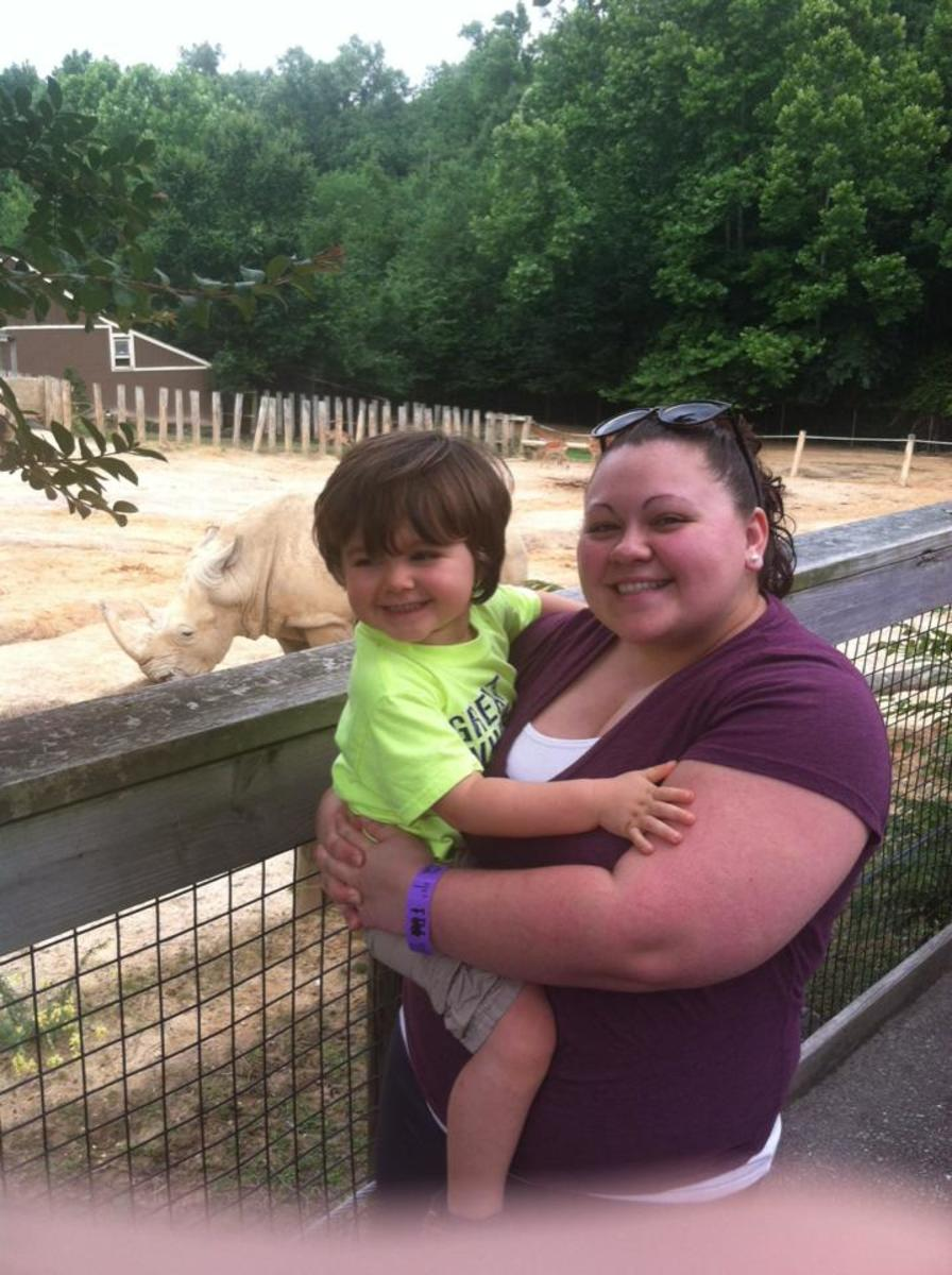 Trip to Richmond Zoo (2016)