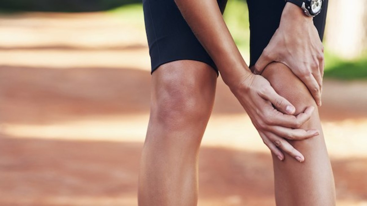 A miss-aligned knee may cause excruciating pain.
