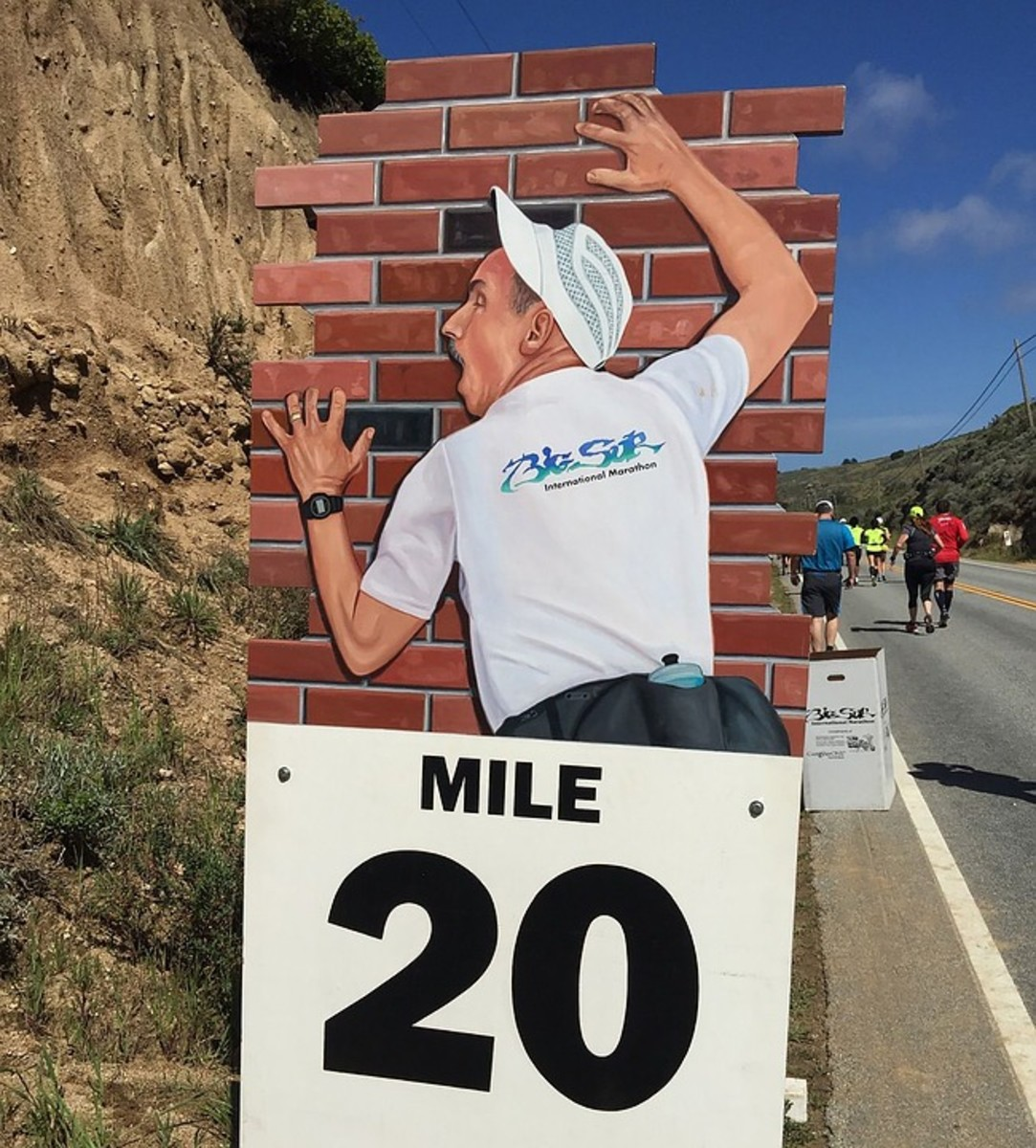 Even the infamous 'wall' at mile 20 can be overcome with mental grit and mental practice.