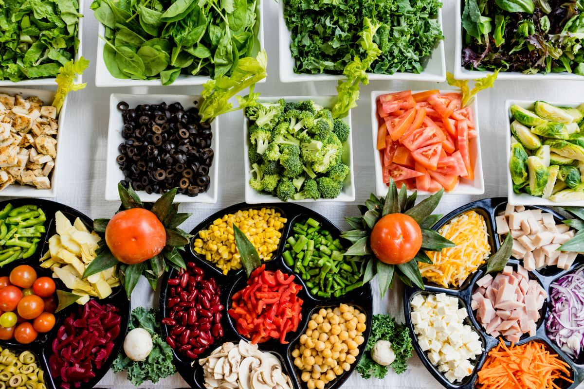 Many vegetables, including kale, bok choy, beets, and tomatoes, contain compounds that help prevent angiogenesis in abnormal cells.
