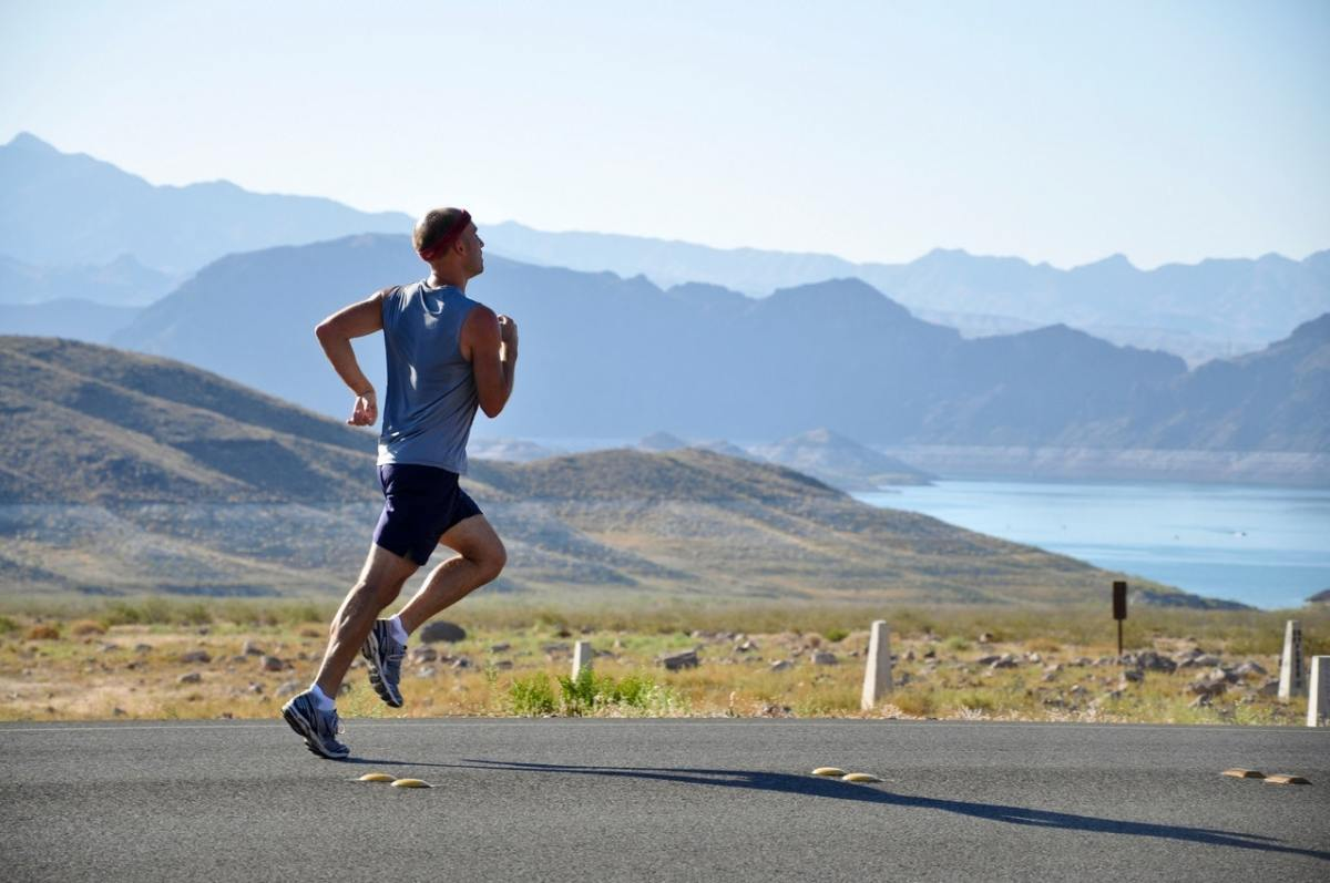 Aside from swimming, running is one of the best exercises around.  Our bodies were designed to run.
