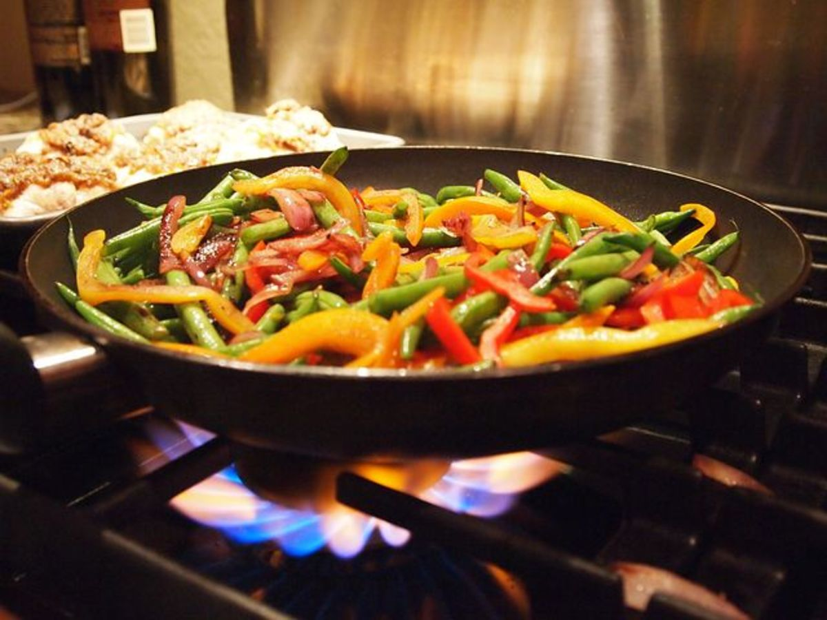 """Superize"" your stir-fry recipes by making sure they have lots of colorful vegetables."